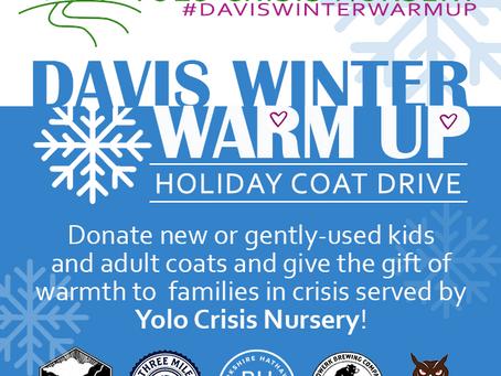 Join the Davis Winter Warm Up Coat Drive