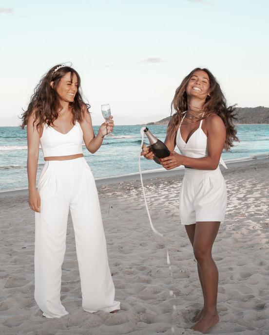 Audrey & Adeline Crops - Xavier shorts & Palazzo pants
