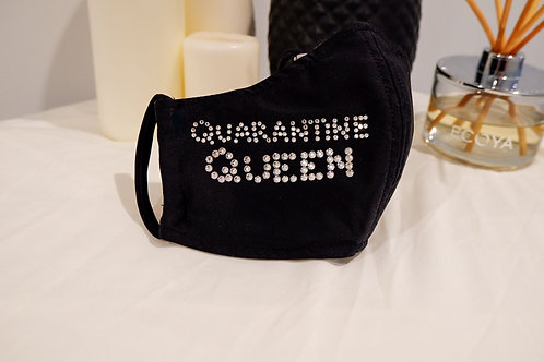 Quarantine Queen Re-usable Face Mask