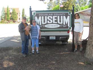 New Sign @ the Douglas County Museum