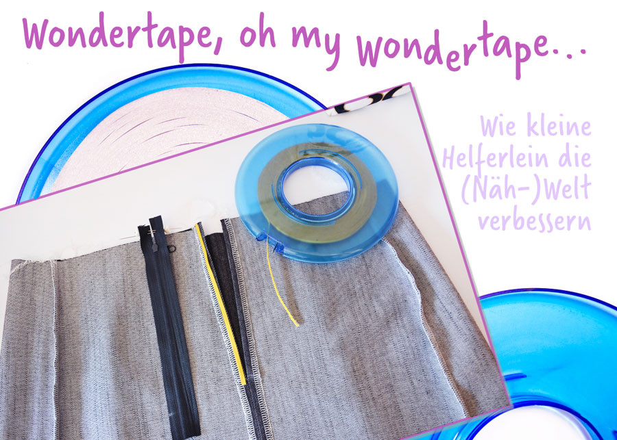 #Wondertape #Nähhelferlein #RomyNähwerk