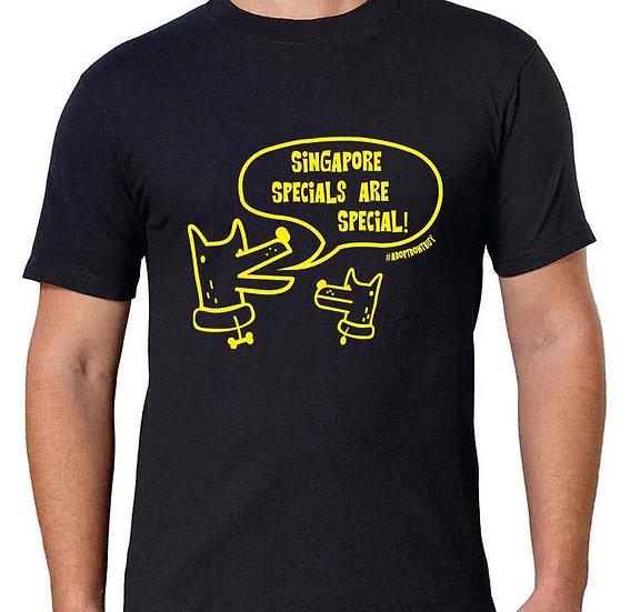 Totes Teelicious T-shirt (men) + Bracelet bundle