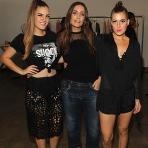 Stella con las gemelas Shawn y Claire Buitendorp
