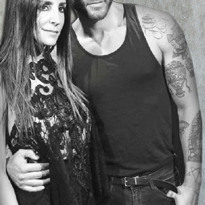 Stella Nolasco and Johnny Wujek stylist