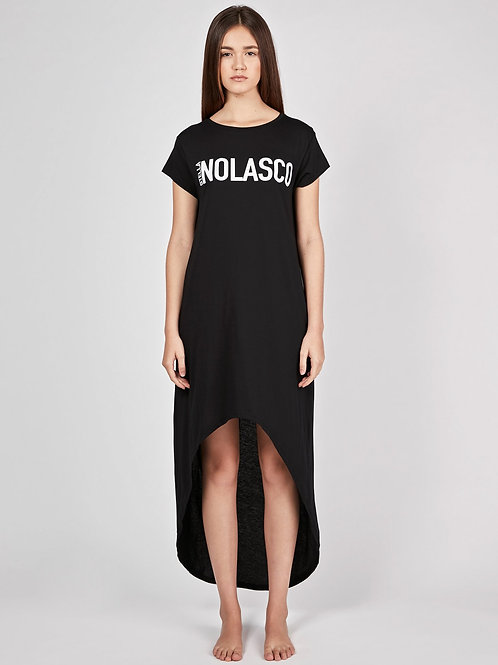 Asymmetrical Dress - Black