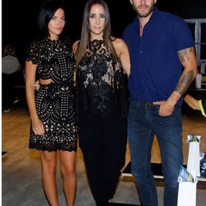 Dj Leigh Lezark From Misshapes, Stella Nolasco y Johnny Wujek stylist