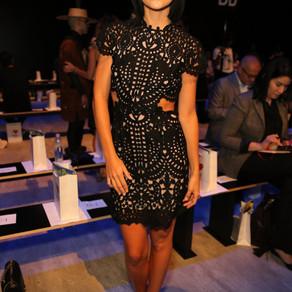 Leigh Lezark wears Stella Nolasco