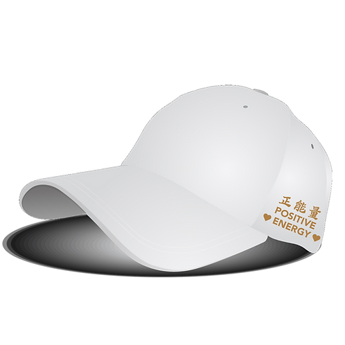 "Positive 3K Designer Cap - ""Universal Love"""