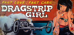 Drag Strip Girl