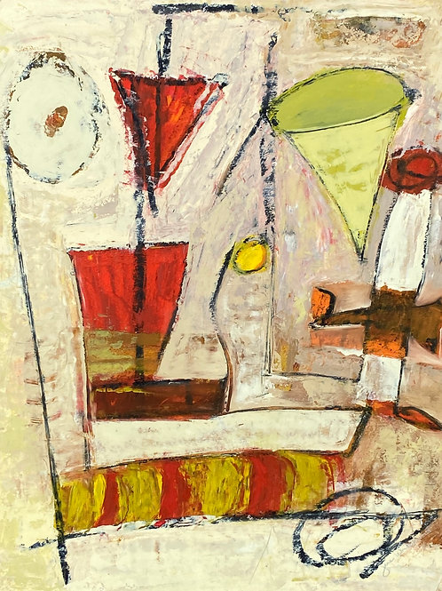 Abstract Expressionistic Painting