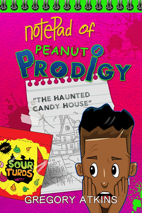 THE HAUNTED CANDY HOUSE