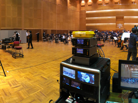 九州交響楽団の動画撮影