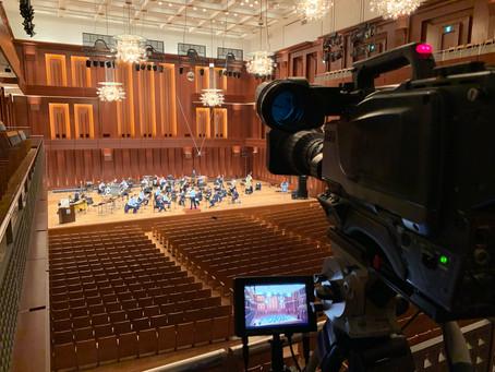 福岡県立修猷館高等学校吹奏楽部の撮影