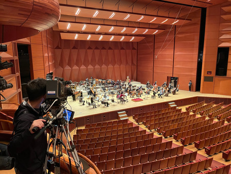 日本センチュリー交響楽団 2回目の撮影