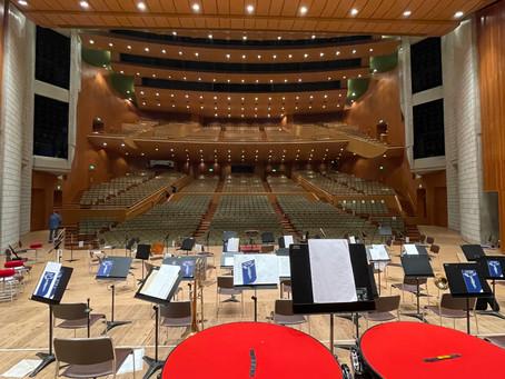 大学オーケストの収録2公演