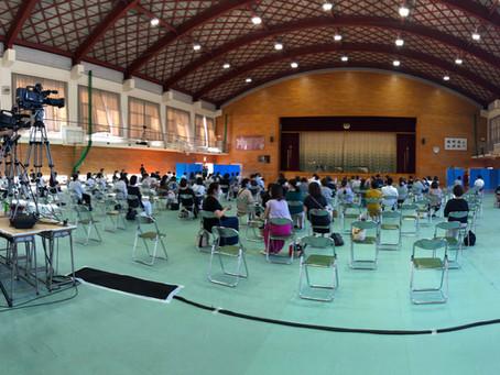福岡県立城南高等学校吹奏楽部の撮影