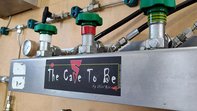 The Cave to Be Blending Panel