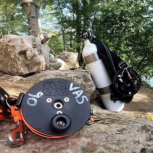 Cave Diving Reel
