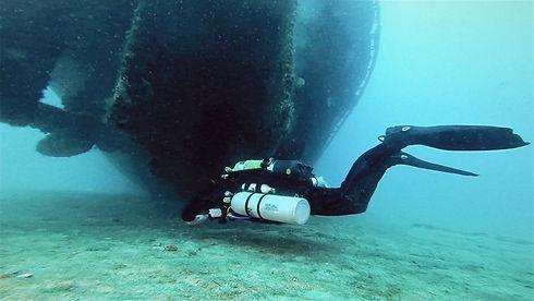 Trimix Wreck Diver