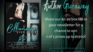 HUGE Author only Giveaway!