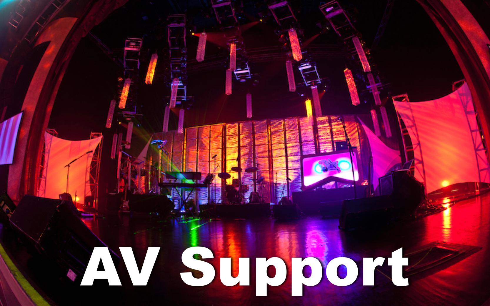 AV SUPPORT