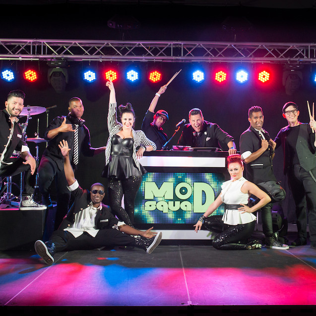 Our newest addition to the MEE music arsenal... Mod Squad! A small, yet mighty 5 Piece Band, with our DJ who is leading the way!