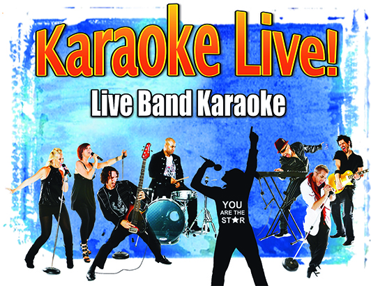Our corporate version of Rising Star show... Karaoke Live... the originators!