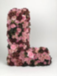 Blomsterbokstav L addaflower.com.jpg