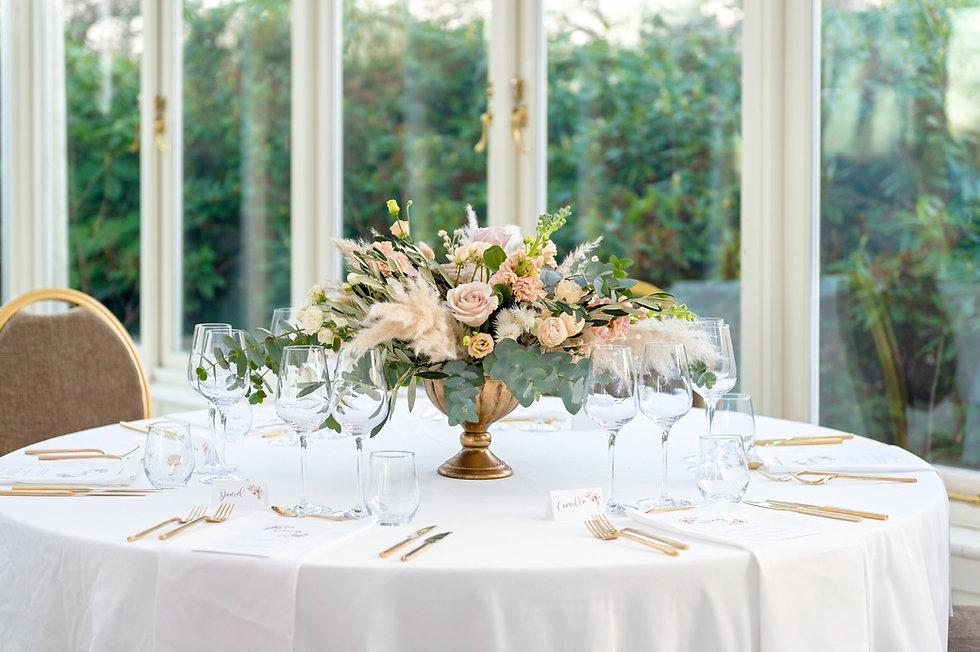 Bröllopsblommor dekorationer omslag 202