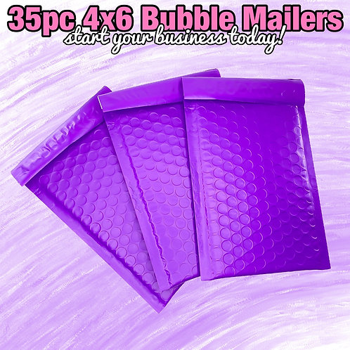 35pc Bubble Mailers (4x6)