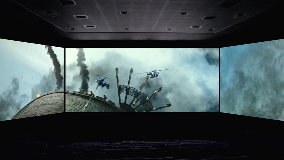 Screen X : The Great Wall