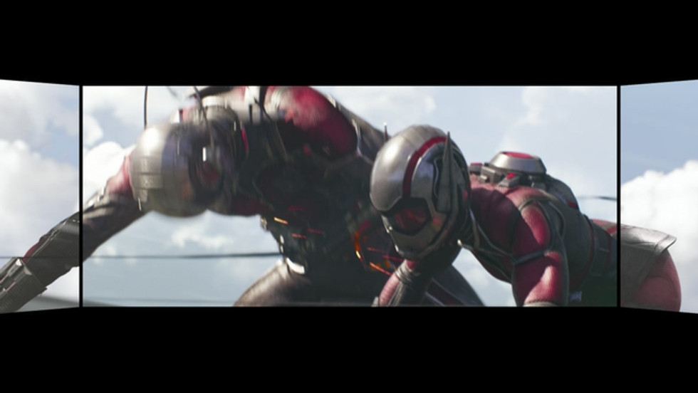 Screen X : Ant-Man and the Wasp