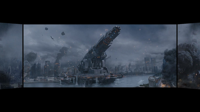 Screen X : Shanghai Fortress