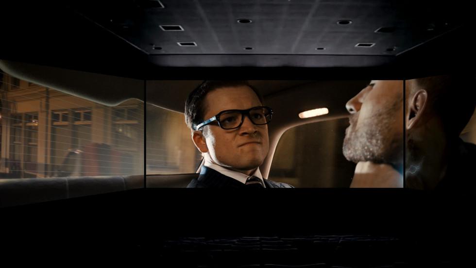 Screen X : Kings man_The Golden Circle