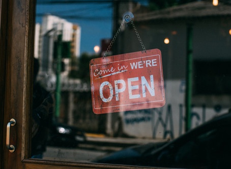 How to Let People Know Your Business is Open Again