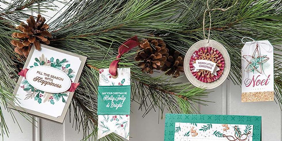 Take and Make Holiday Card Kit
