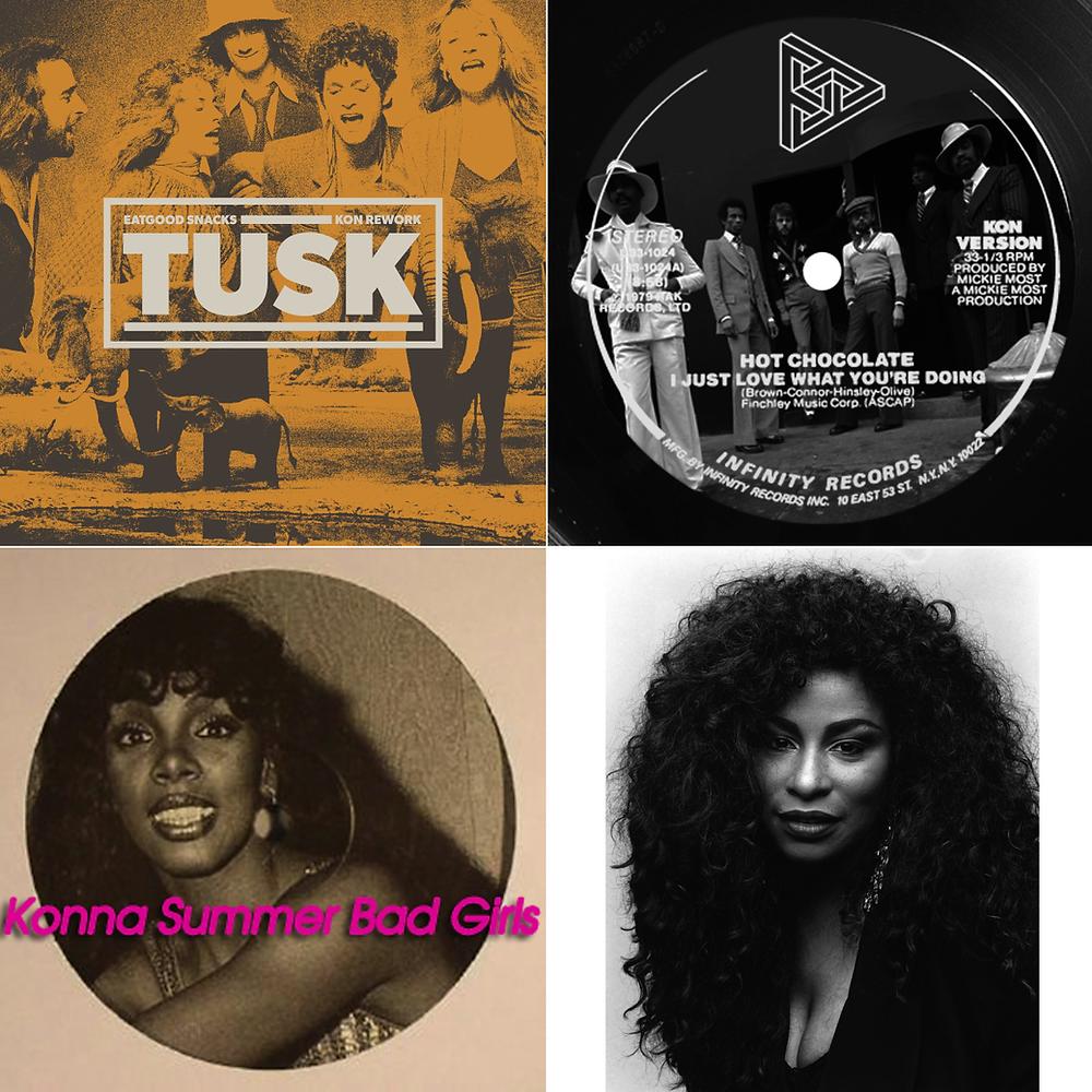 Kon - Donna Summer, Chaka Khan, Hot Chocolate, Fleetwood Mac