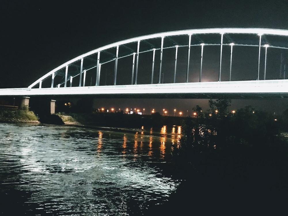 Hendricksov most, Zagreb