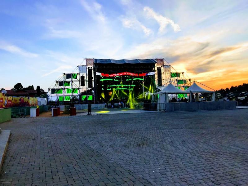Addico Tesla Stage, Sea Star, Umag, Croatia