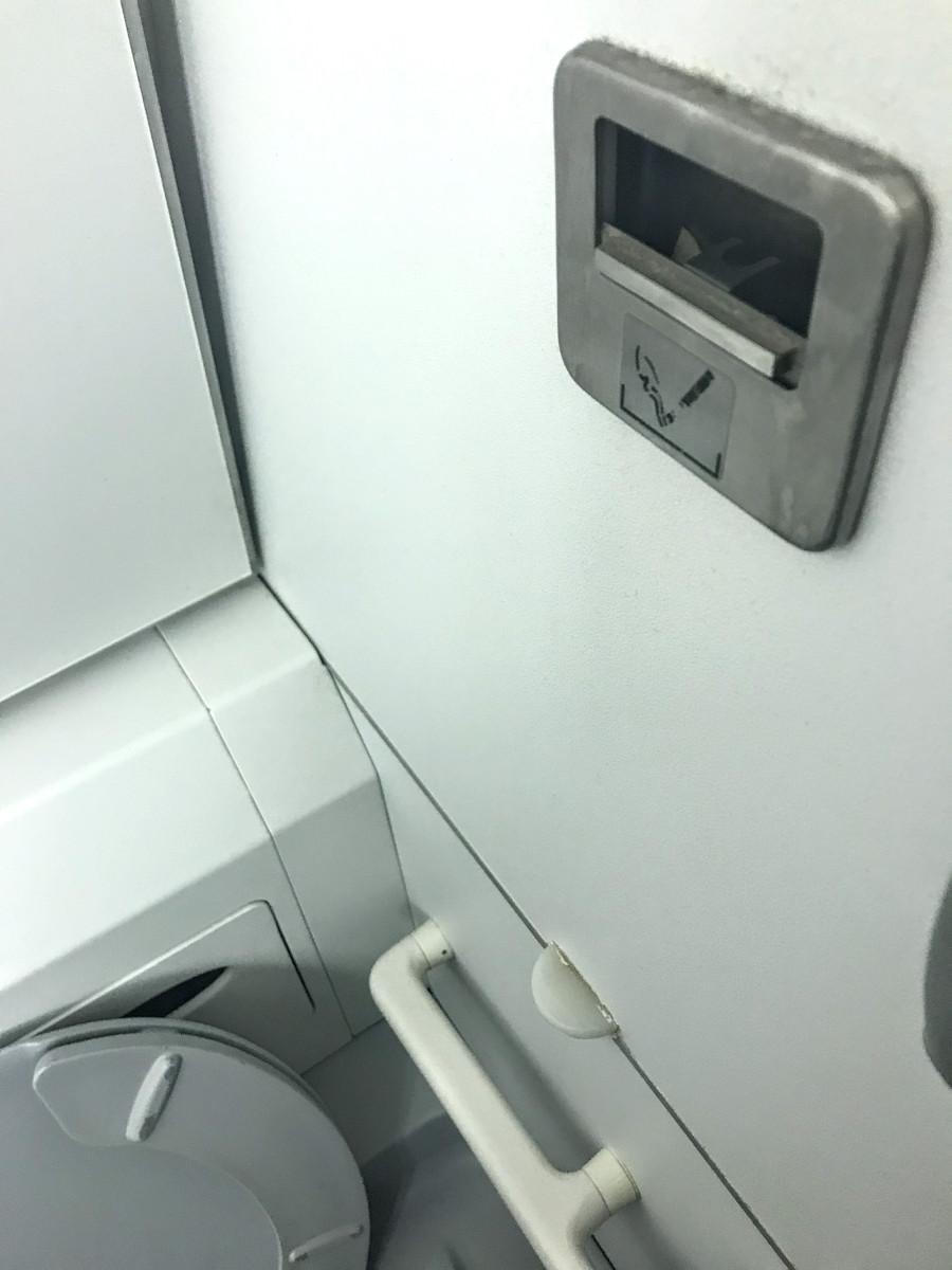 Pepeljara u avionu