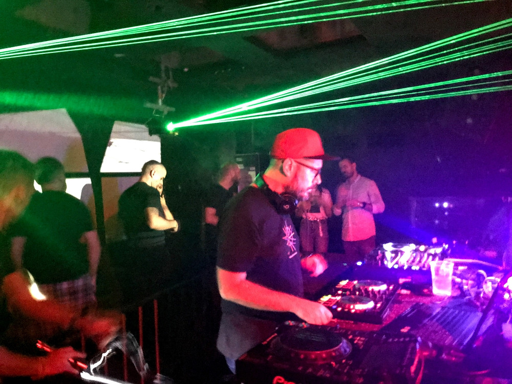 DJ Frx @ChemicalBrothers after party, Boogaloo, Zagreb