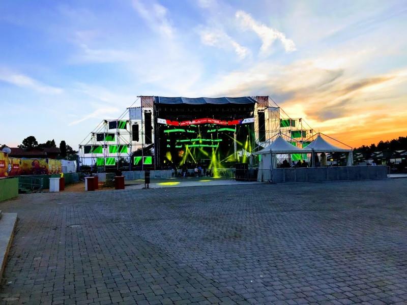 Addiko Tesla Stage, Sea Star, Umag, Croatia