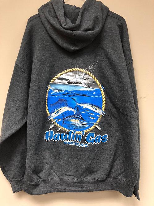 Haulin' Gas Hooded Sweatshirt