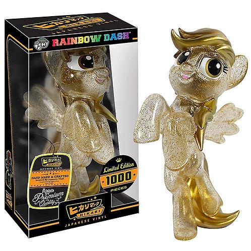 Funko Hikari: My Little Pony - Gold Dust Rainbow Dash LE