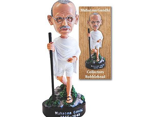 Mahatma Gandhi Collector Bobblehead Figurine