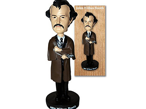 John Wilkes Booth Bobblehead Doll