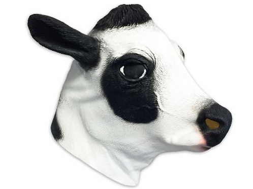 Creepy Cow Mask