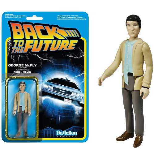 Funko ReAction: Back to The Future - George McFly Action Figure