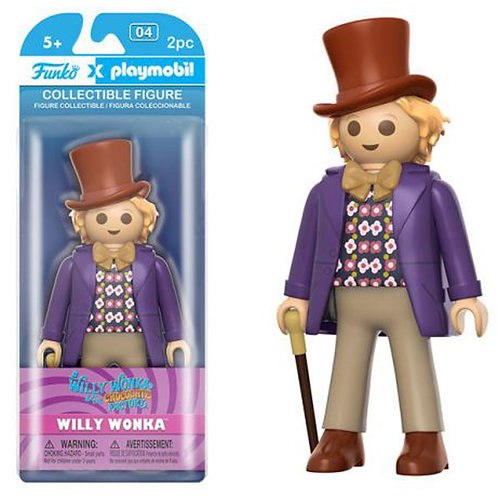 Funko Playmobil: Charlie and the Chocolate Factory - Willy Wonka Action Figure
