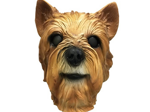 Yorkie Yorkshire Terrier Dog Costume Face Mask
